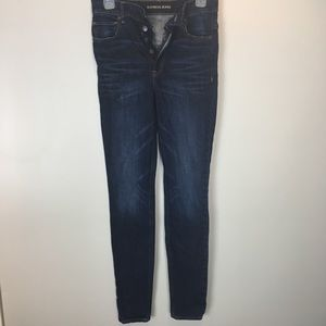 Express Legging Super High Rise Skinny Jeans SZ 4